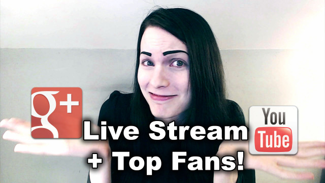 Live Streaming, Top Fans, & Google+ YouTube Comments?!