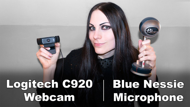 How I Produce These Videos | Logitech C920 & Blue Nessie Review