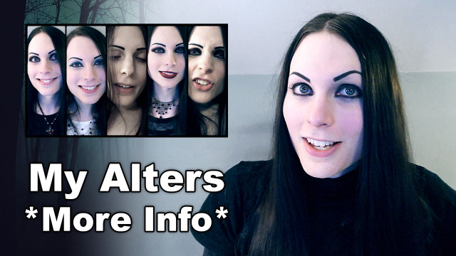 More Info About My Alters / Personalities | Dissociative Identity Disorder (DID)