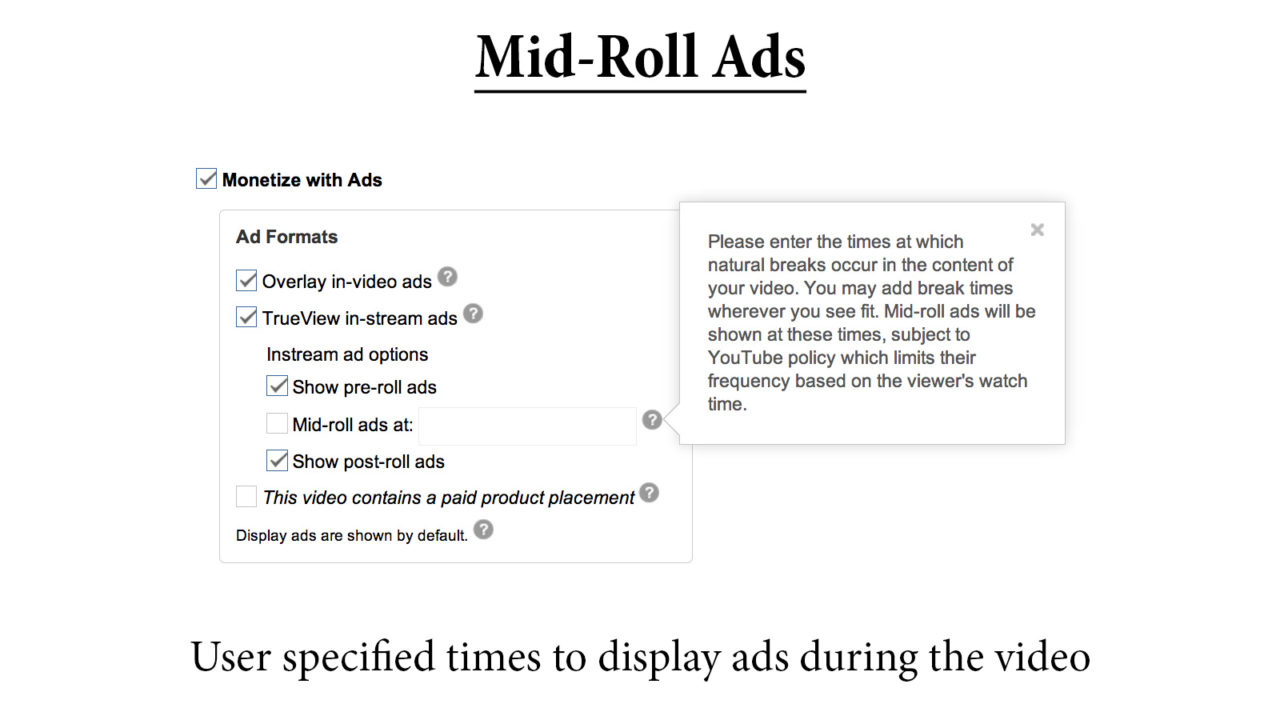 Mid-Roll Ads