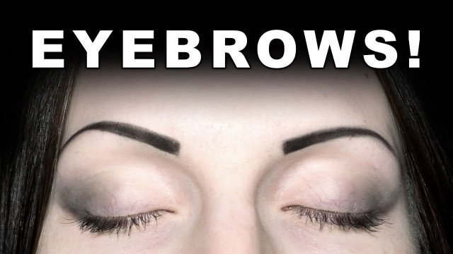 How I Draw My Eyebrows