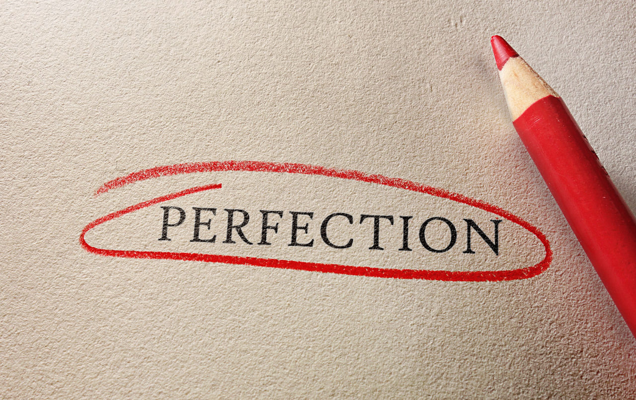 Perfection circled in red
