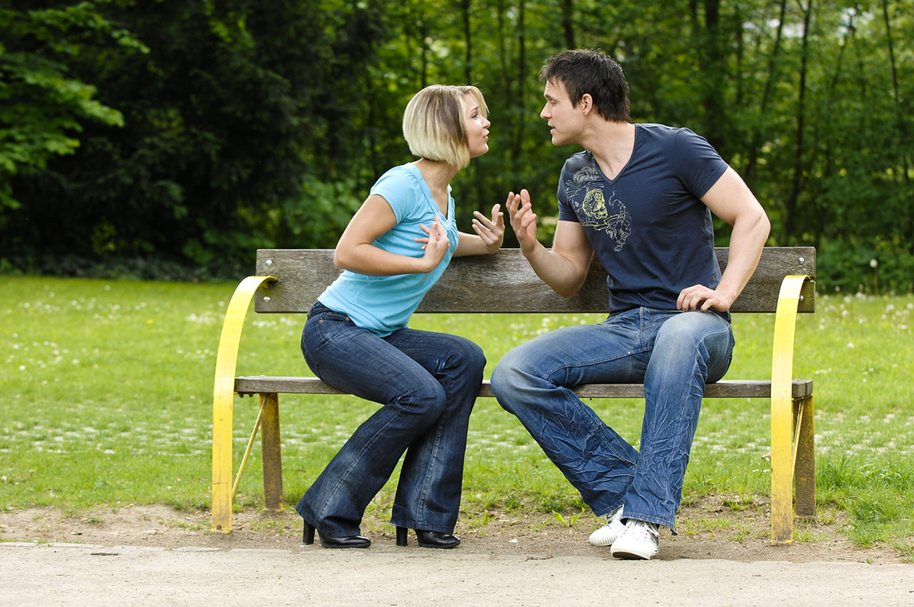Couple in Argument