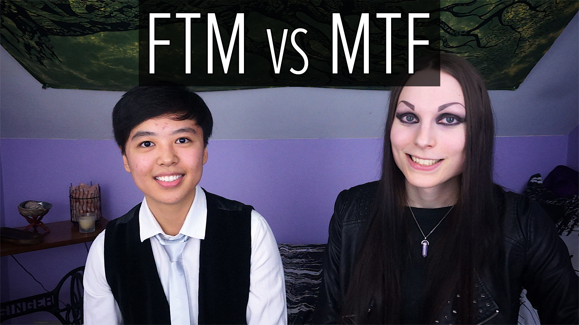 FTM vs MTF Transgender (featuring Rui)