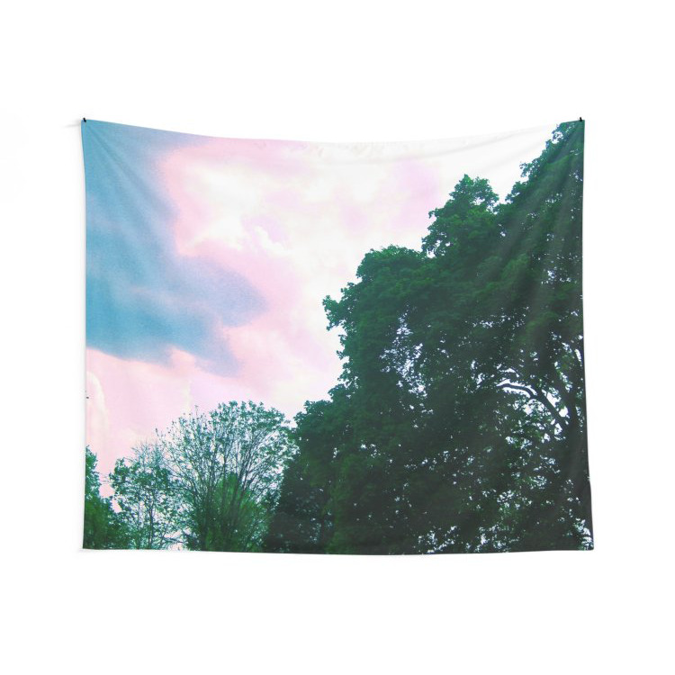 Merchandise - Trees and Colorful Sky