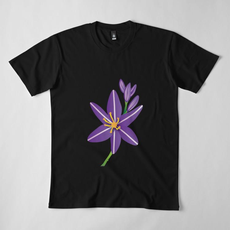 Merchandise - Purple Asphodel Flower
