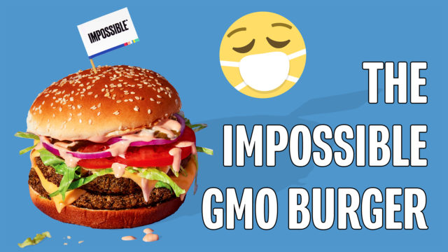 Glyphosate Found in Vegan GMO Impossible Burger