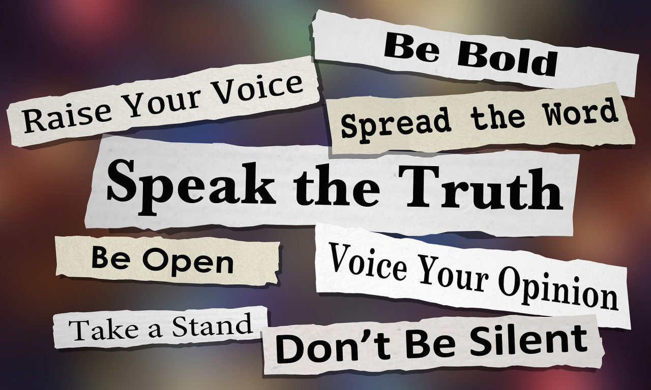 Speak the Truth Share Opinion Spread Your Voice Headlines