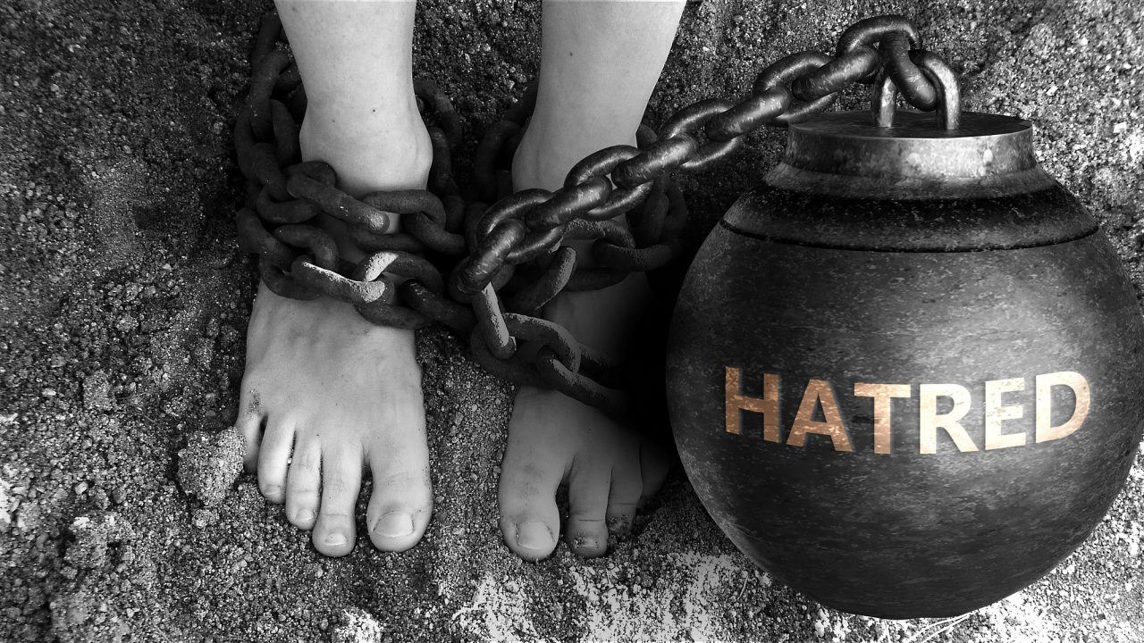 Hatred as a negative aspect of life