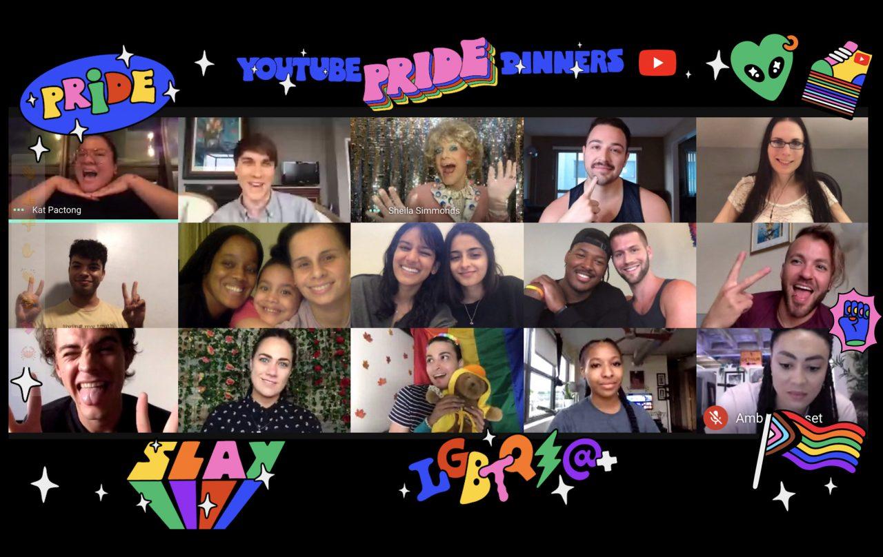 YouTube Pride Dinner