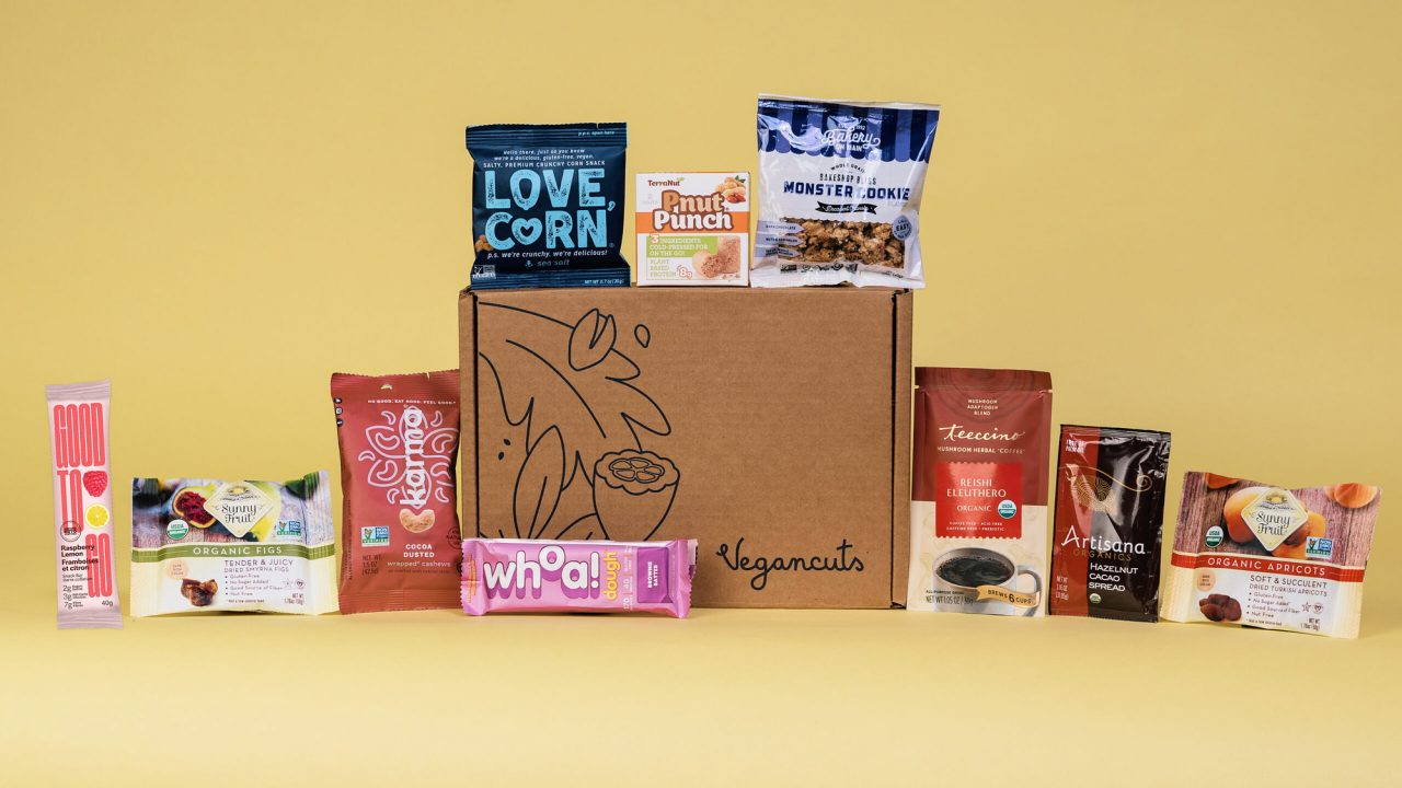 Vegancuts Snack Box | February 2021 - Items