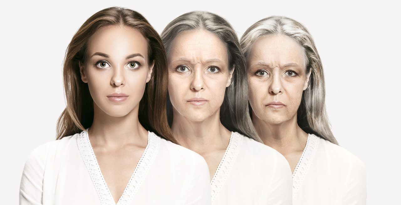 Process of aging and rejuvenation