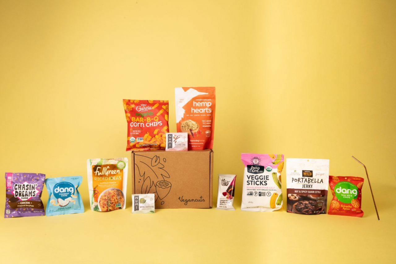 Vegancuts Snack Box | April 2021 - Items