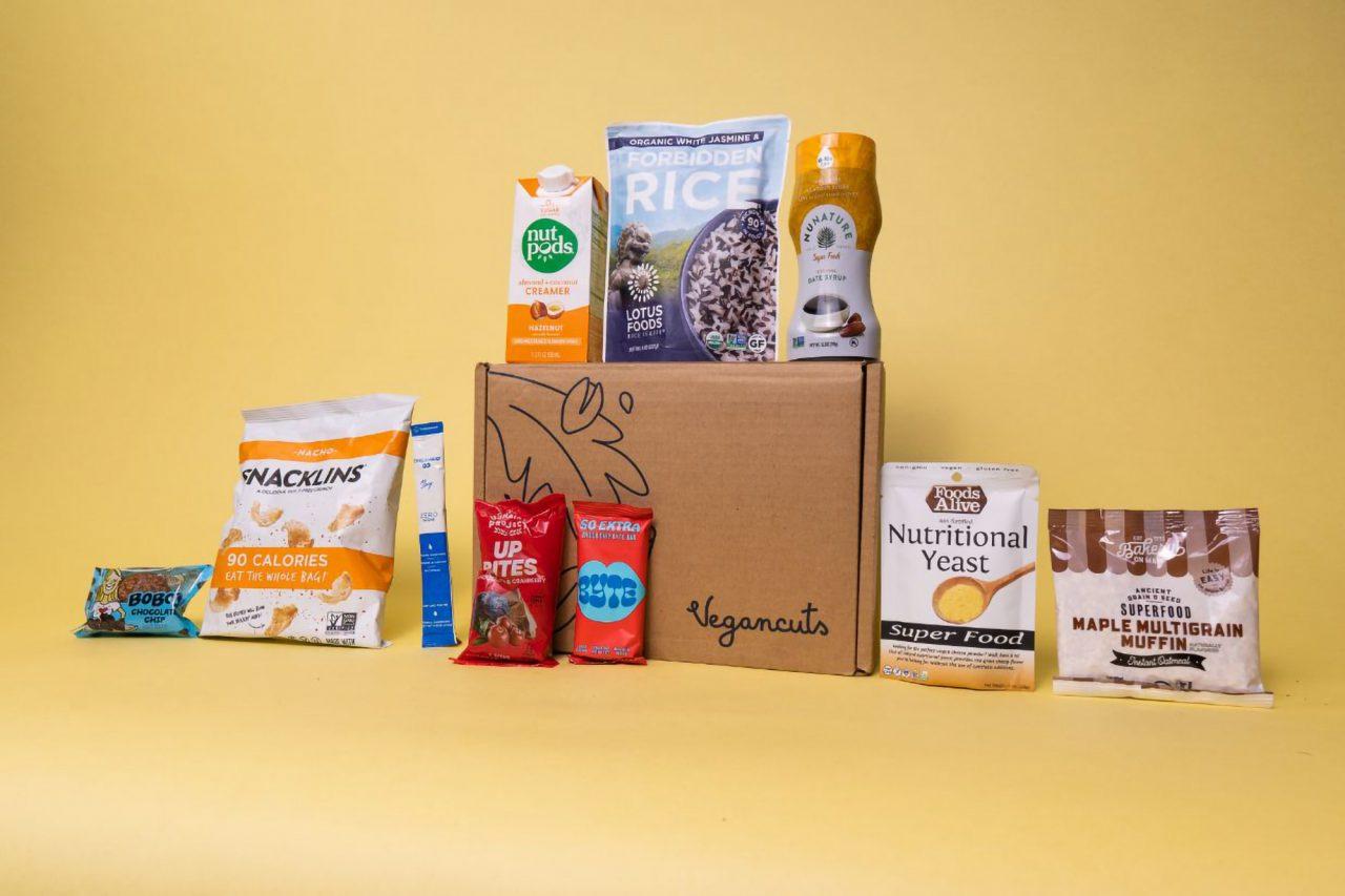 Vegancuts Snack Box | May 2021 - Items