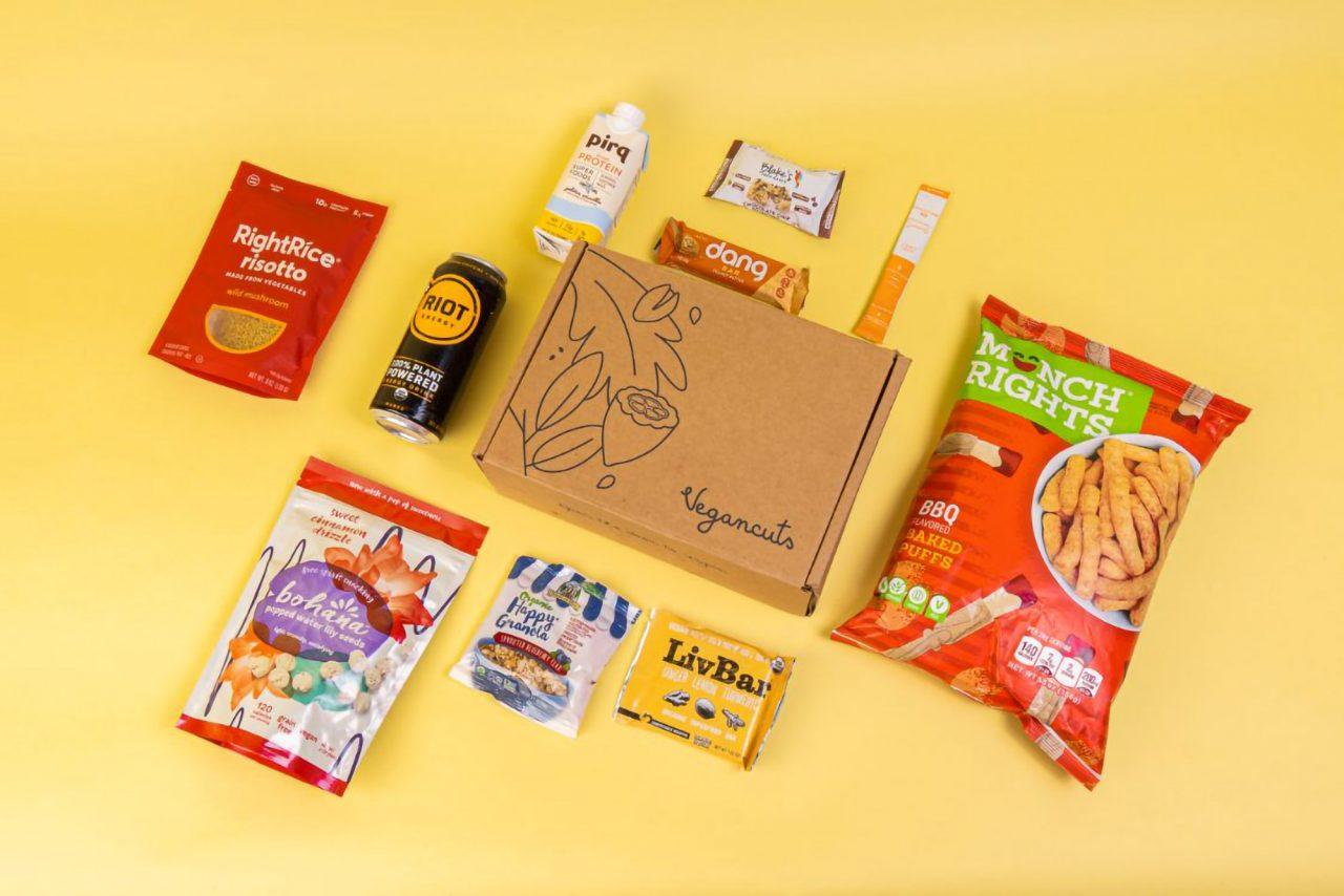 Vegancuts Snack Box | June 2021 - Items
