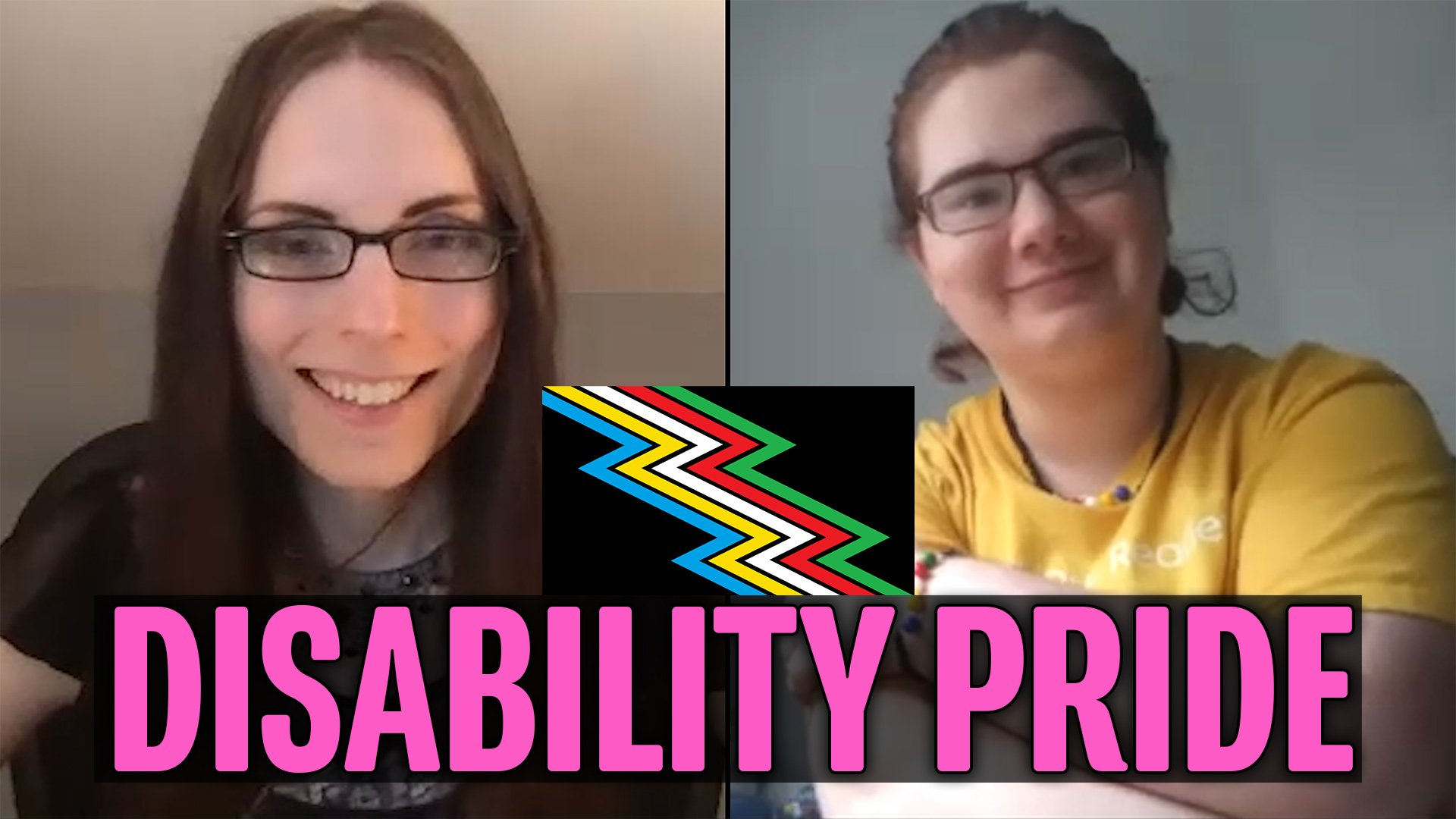Bringing Awareness to Disability Pride (with Seoirse)