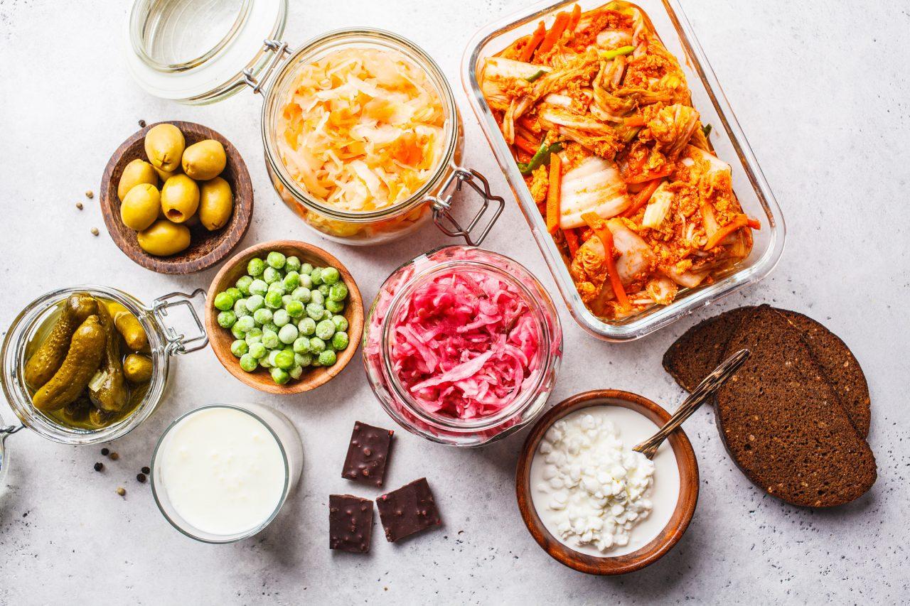 Probiotics food concept