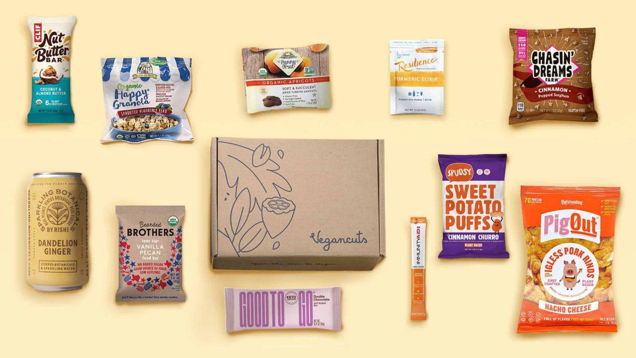 Vegancuts Snack Box | September 2021 - Items
